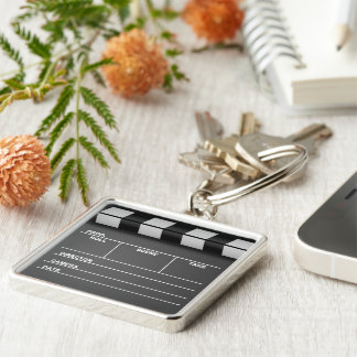 Movie Clapboard Keychain Key Chain