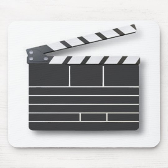 movie clip board mouse mat