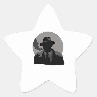 Movie Detective Star Sticker