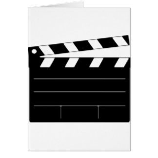 Movie Director, Filmmaker, Take 1 Card