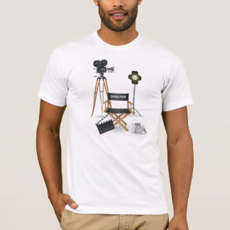 Movie Director Set Mens T-Shirt