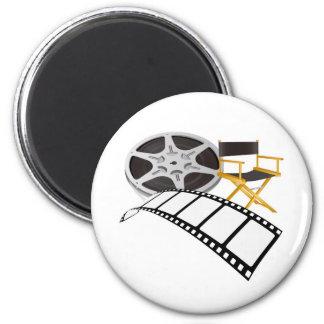 movie equipments 6 cm round magnet