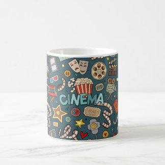 Movie Fan Cinema Theater Design Coffee Mug
