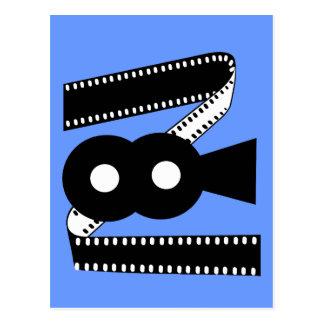 Movie Film Camera - Motion Picture Film Postcards
