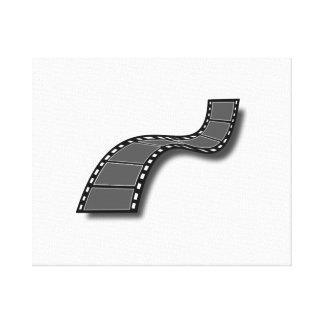 Movie Film Gallery Wrap Canvas