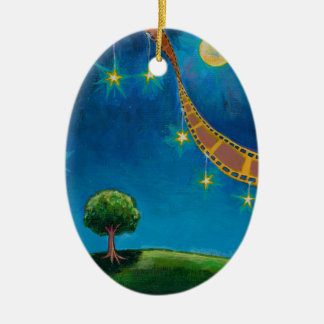 Movie film photography art fun landscape painting christmas ornament