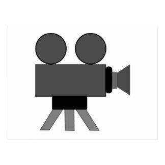 Movie Film Projector Postcard