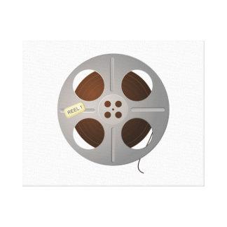 Movie Film Reel Canvas Print
