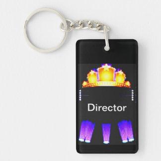 Movie Marque' Single-Sided Rectangular Acrylic Keychain