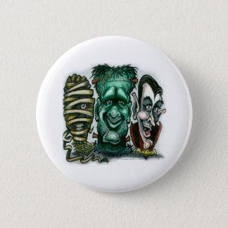 Movie Monsters 6 Cm Round Badge