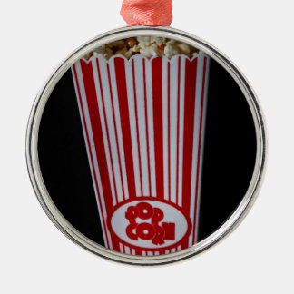 Movie Night and Popcorn Christmas Ornament