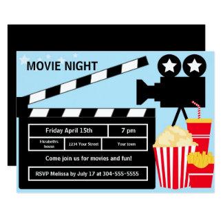 Movie Night Birthday Card
