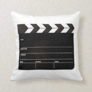 MOVIE NIGHT... Directors board. CUSTOMIZE!! Throw Pillow