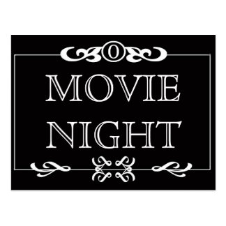 Movie Night Invitation Postcard