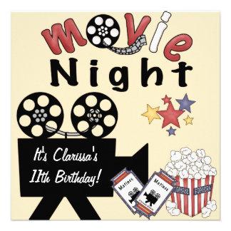 Movie Night Madness Invitations
