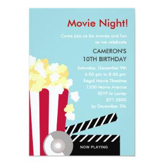 Movie Night Party Invitation