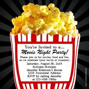 kids movie party invitations announcements zazzle uk