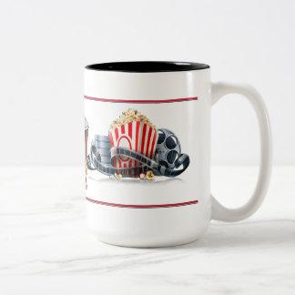 Movie Night Popcorn Mug