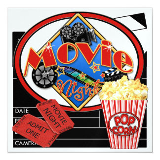 Movie Night ! SRF Card