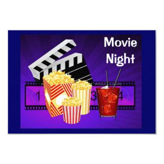 movie night theater screen invitation