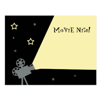 Movie Nite Invite Postcards