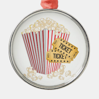 Movie Popcorn Christmas Ornament