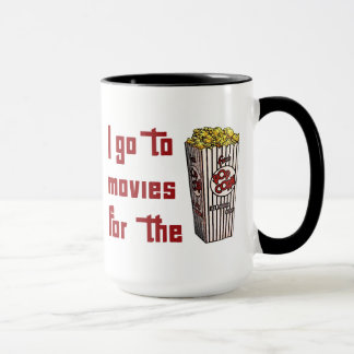 Movie Popcorn Mug