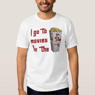 Movie Popcorn T-shirts