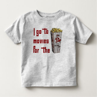 Movie Popcorn Tshirts