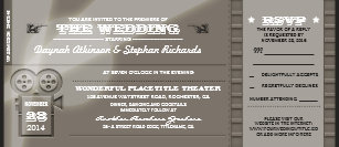 movie premiere invitations announcements zazzle uk