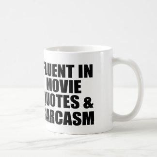 Movie Quotes And Sarcasm Coffee Mug