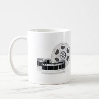 Movie Reel Basic White Mug