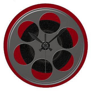 Movie Reel Clocks