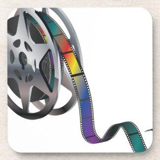 Movie Reel Coasters