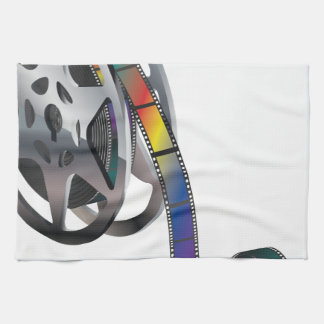 Movie Reel Tea Towel