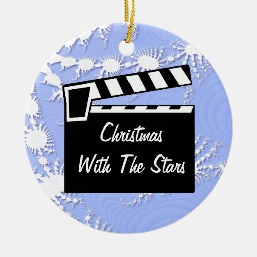 Movie Slate Clapperboard Board Christmas Tree Ornaments