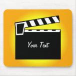 Movie Slate Clapperboard Board Mousepad