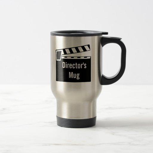 Movie Slate Clapperboard Board Mugs