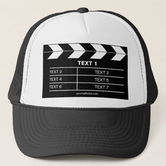 Movie Slate Trucker Hat