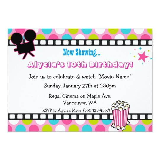 Movie Star Birthday Card