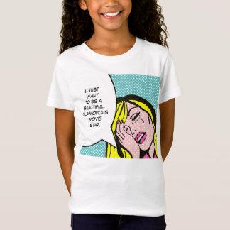 Movie Star Comic Book T-Shirt