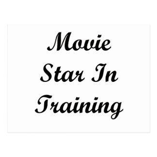 Movie Star In Training Postcard