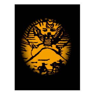 Movie Star Sphinx Postcard