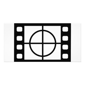 movie start icon photo greeting card