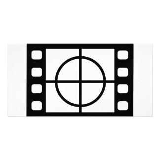 movie start icon photo greeting card