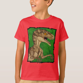 Movie style vintage velociraptor T-Shirt