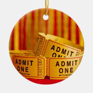 Movie Time! Christmas Ornament