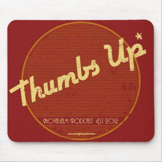MovieFilm Thumbs Up* Retro Logo Mousepad