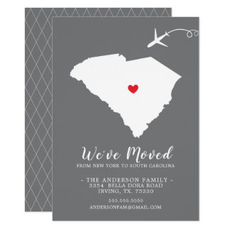 Moving Announcement | State SOUTH CAROLINA