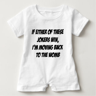Moving Back to the Womb Baby Bodysuit
